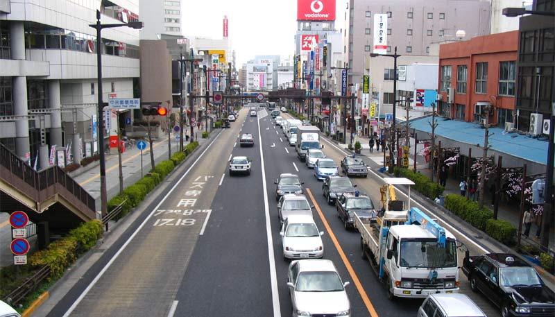 南町~銀杏坂~水戸駅